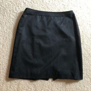 Plain black dress skirt